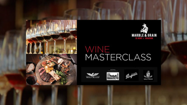 Marble and Grain Wine Masterclass