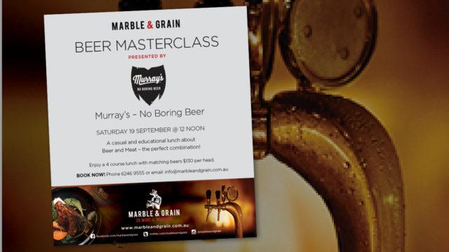 Marble & Grain Beer Masterclass